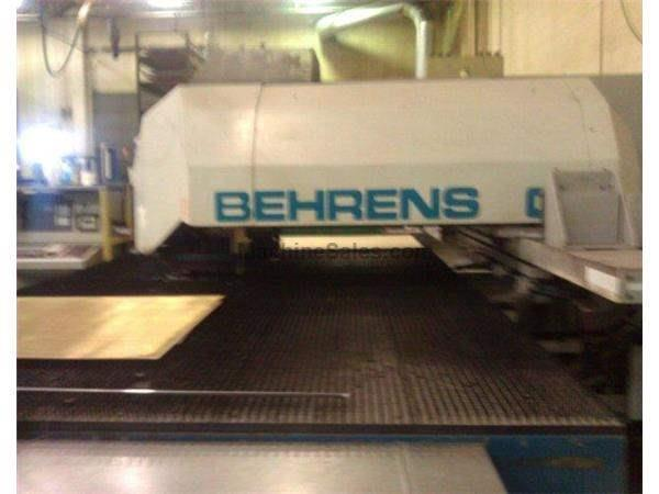 20 Ton, BEHRENS, IBH-CNC, 21 Station,4'X8'Sheet,4'x10'extended,5/16 Sheet Thickn Nevins Machinery Concept