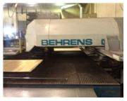 20 Ton, BEHRENS, IBH-CNC, 21 Station,4'X8'Sheet,4'x10'extended,5/16 Sheet Thickn Nevins Ma