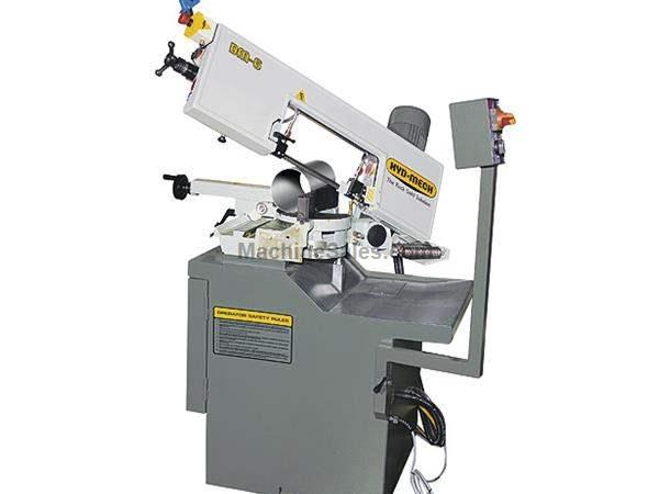 "HYD-MECH, No. DM-6, 6.25""Rnd,2-2.5HP,Carbide Guides,Bl Tension meter,(other mod. Nevins Machinery Concept"