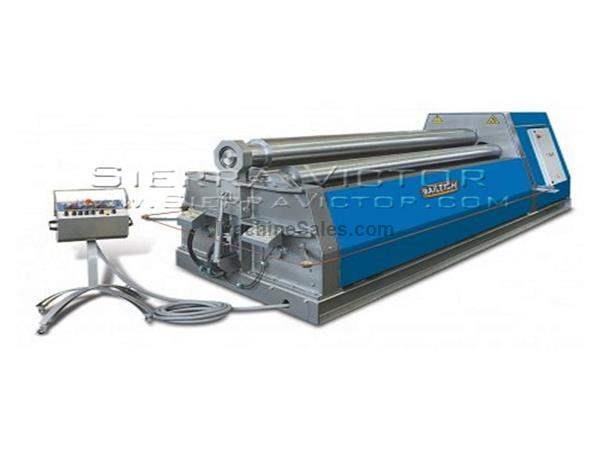 "122"" x .55"" BAILEIGH® Four Roll Plate Bending Machine"