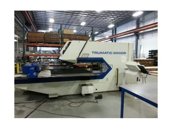 22 Ton, TRUMPF, TC2000R BOSCH TYPE 3, MULTITOOL, MFG:1999   Our stock numbe