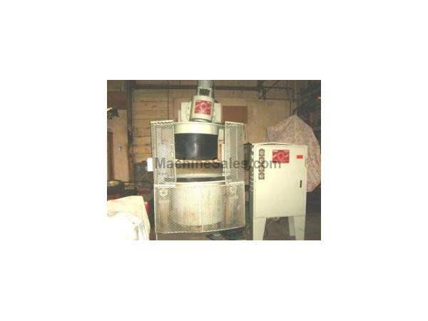 ALMCO/SUTTON CFT-2000-1 SPINDLE TYPE FINISHING MACHINE