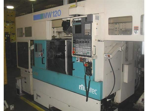 MURATA MW120-GT - CNC TWIN SPINDLE TURNING CENTER