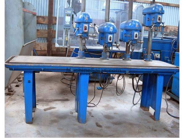 "Used 4-Spindle Drill Presses: 15"" Delta 4-Spindle Drill"