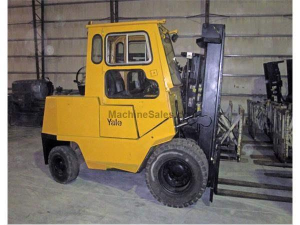 8,000 lbs Yale Forklift, Model GLP-080
