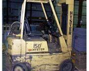 4,000 lb. Hyster forklift
