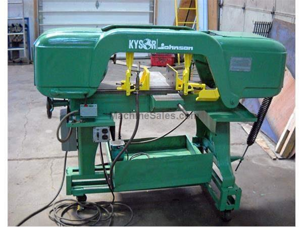 "10"" x 18"" Kysor Johnson Model J Horizontal Bandsaw"
