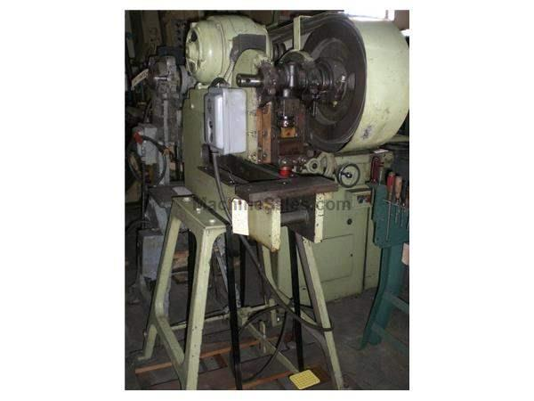 Used WA Whitney Deep Throat Punch Press