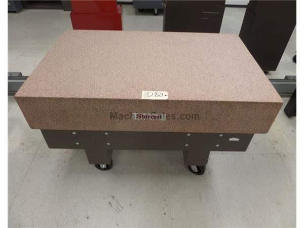 Starrett Pink Granite Surface Plate