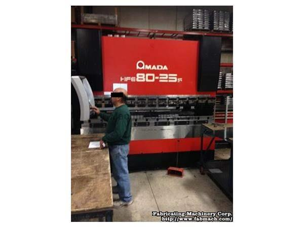 Amada HFE8025s 7-Axis CNC Hydraulic Press Brake