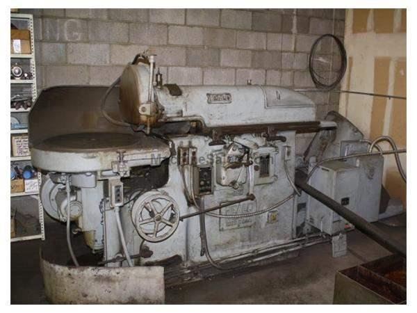 "26"", HEALD 25A, 15HP HORIZONTAL SPINDLE ROTARY SURFACE GRINDER Turners Machiner"