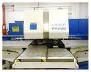 """TRUMPF TRUMATIC 600L Laser Punch, 50"""" x 100"""", 19 ATC, 2200 Watt L"""