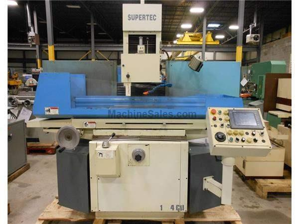 "2007 SUPERTEC PLANOTECH 1224NC 3-AXIS AUTO HYD SURFACE GRINDER, 12"" X"