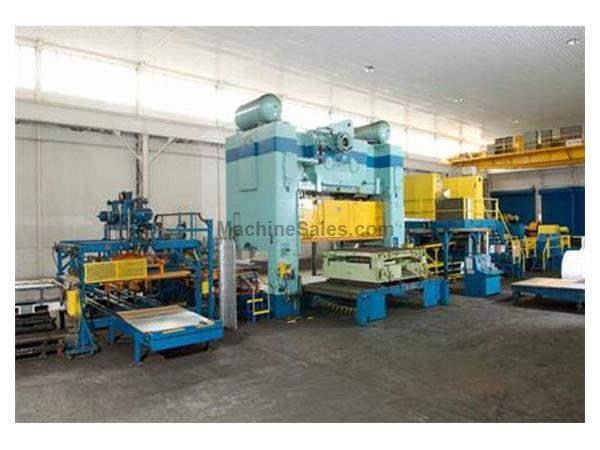 "400 TON, VERSON PRESS LINE, BED 102"" x 186"""