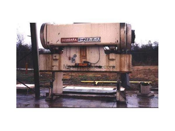 60 TON NIAGARA MODEL #IB-60-8-10 PRESS BRAKE