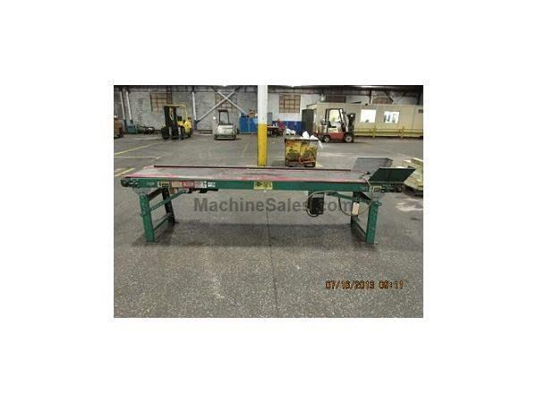"AUTOMATED CONVEYOR SYSTEMS 16"" X 115"" FLAT BELT TYPE"