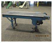 "FLATBELT CONVEYOR, BELT 15-1/4"" X 77"""
