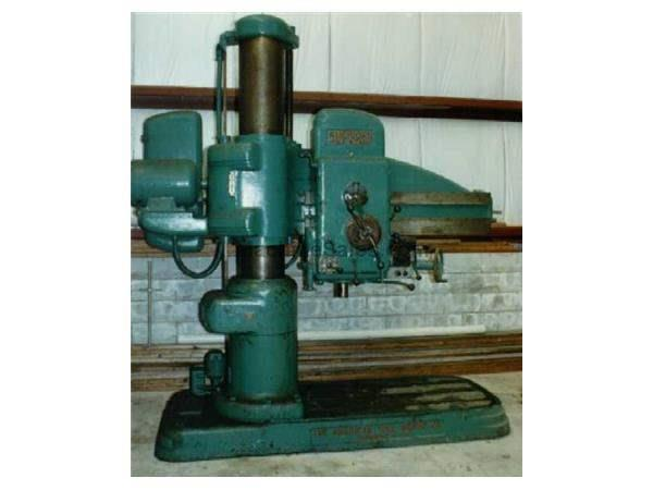 "AMERICAN 4' x 13"" RADIAL DRILL"