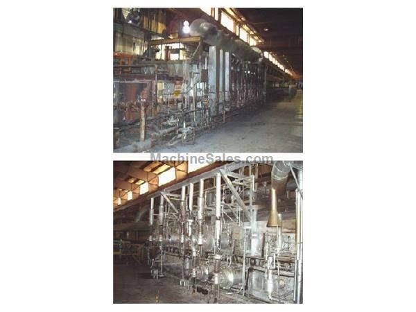 RADIANT TUBE FIRED ROLLER HEARTH ANNEALING FURNACE