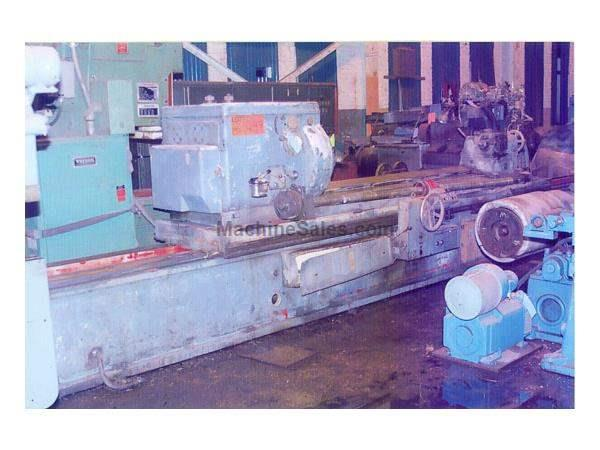 "24"" X 98.5"" HERKULES MODEL #WS-300 ROLL GRINDER"
