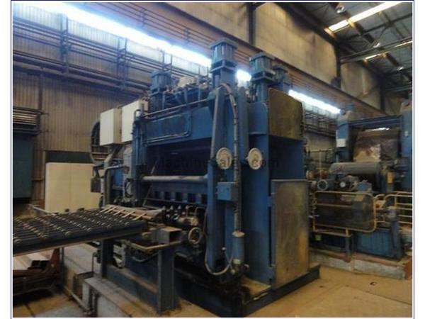 "1300MM (51.18"") CLECIM SIEMENS VAI COMBINED TEMPERING AND TENSION LEVELING LINE"