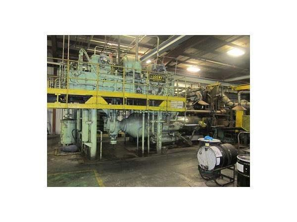 1700 TON LOEWY OIL HYD. COPPER ROD/TUBE EXTRUSION PRESS W/ INTERNAL PIERCER