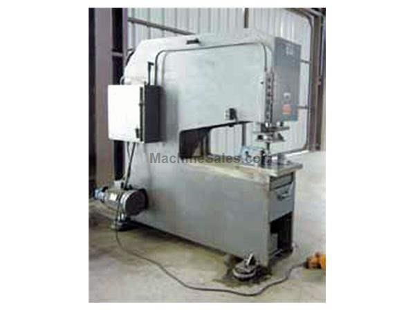 40 TON, HTC MODEL #4036PP, HYDRAULIC PUNCH PRESS, RAM STR. 10""