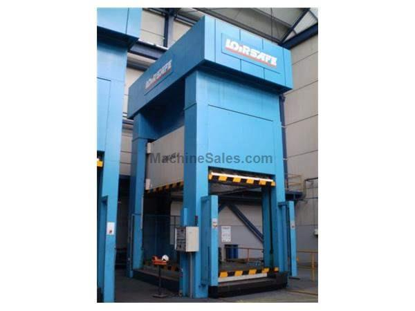 800 TON LOIRE FOUR STANDS HYDRAULIC DRAWING PRESS, 2003 AS NEW CONDITION
