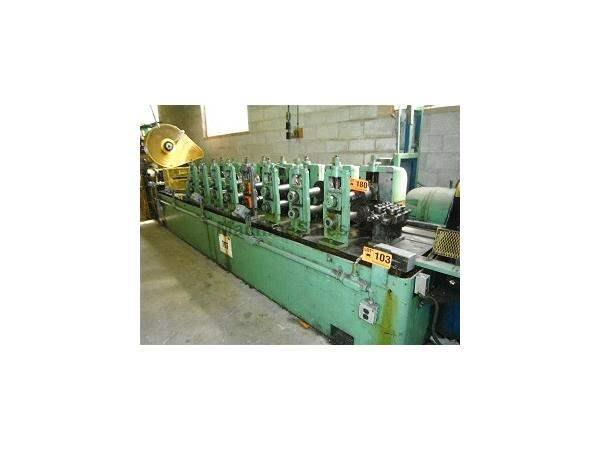 "8 STAND X 2-1/2"" X 16"" YODER M2-1/2 ROLLFORMING LINE"