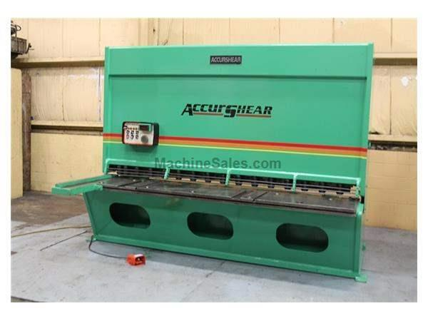 "1/2"" x 10' ACCUPRESS #8500-10, HYDRAULIC POWER SQUARING SHEAR"