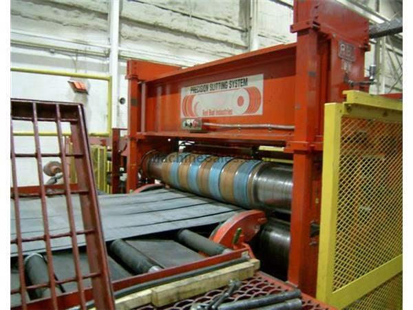 "72"" X .187"" X 60,000# RED BUD DOUBLE LOOP SLITTING LINE"