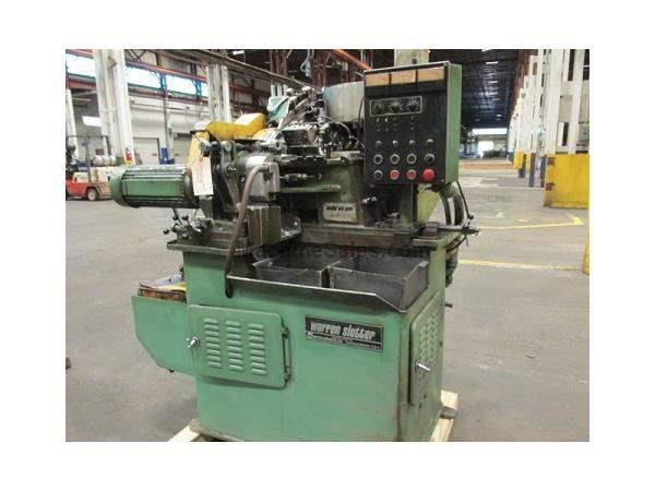 "3/8"" WARREN WS-1000-VB HIGH SPEED HEAD SLOTTER W/ VIBRATORY FEEDER"