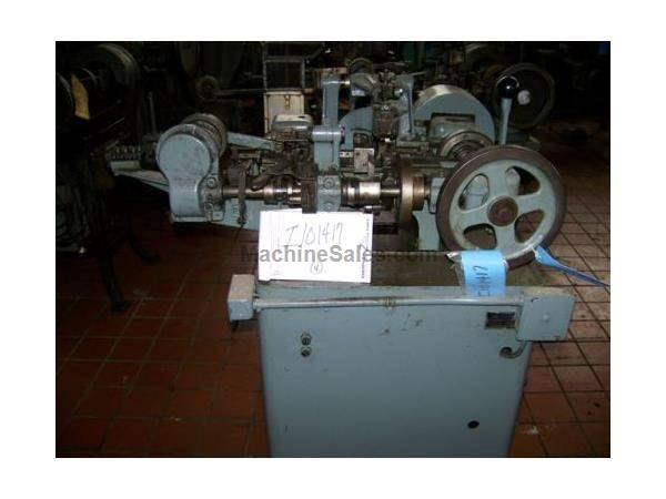 NILSON MODEL #S-00 WIRE FORMING FOUR-SLIDE MACHINE