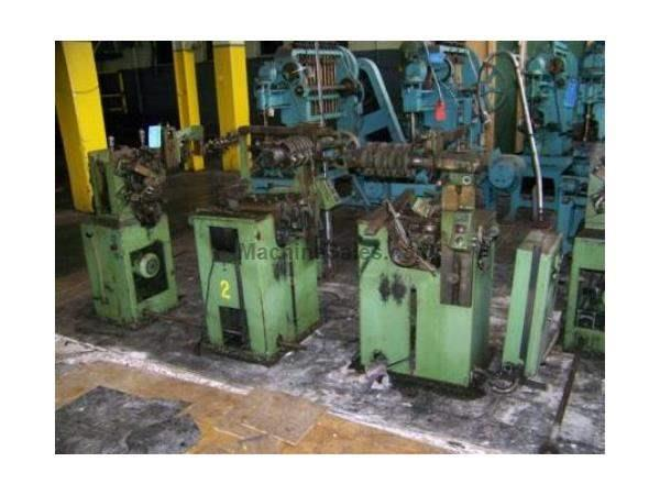 SPUHL MODEL #DN-80-SW SQUARE MESH WIRE WEAVING/FORMING MACHINE