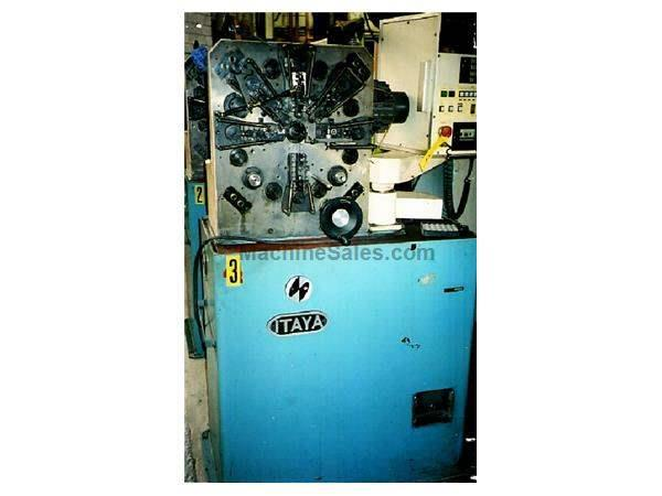 ITAYA MODEL #MCS-8D WIRE SPRING COILER/FORMER