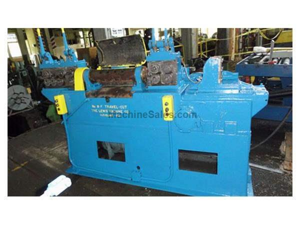 LEWIS MODEL #8-F, WIRE STRAIGHTENING & CUTTING MACHINE