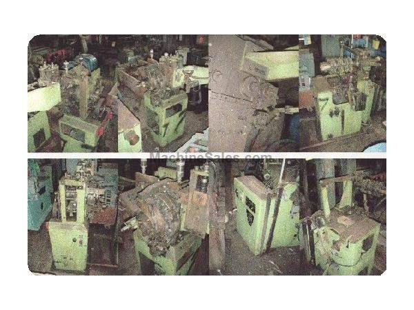 SPUHL MODEL #DN-80-SW WIRE MESH FORMING MACHINE
