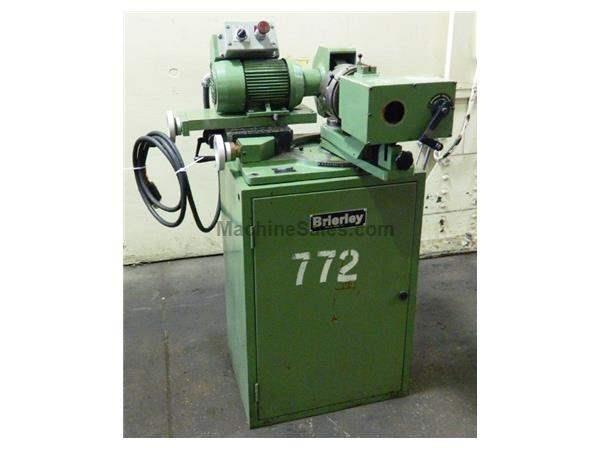 "2"" Dia. Brierley ZB50 DRILL GRINDER, 6-JAW CHUCK, CABINET BASE"