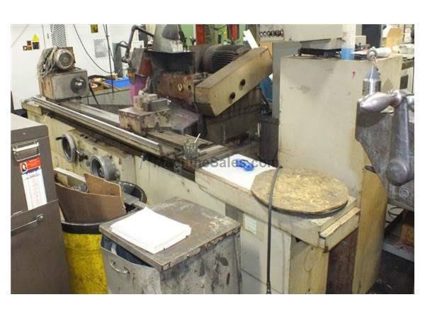 "14"" Swing 59"" Centers SMTW M332B OD GRINDER, 24"" x 3""W WHEEL, HYD. TABLE, AUTO INFEED, PLUNGE,"