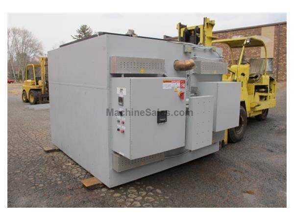 "FB 1200 F ELECTRIC TOP LOAD PIT FURNACE, 72""W  72""L  60""H"