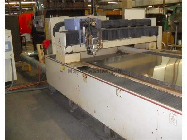2000 Watt Mitsubishi Laser Cutting System Model ML3020D LXP