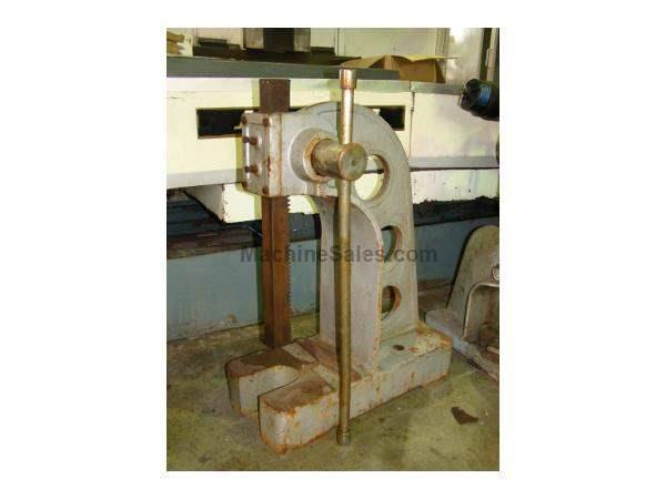 "5 Ton, IMPORT, #5, lever type, 9"" throat"