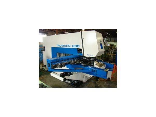 "22 Ton, TRUMPF, TC200, Bosch-Trumagraph, 15 station in-line, 50""x80"" sheet, '94"
