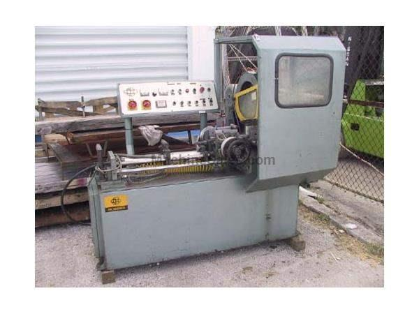 "14"", SOCO, No. MC-350NFA, 3"" SQ & round, automatic, pneumatic, 5 HP, 1987"