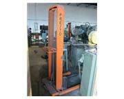"""1000 Lb., PRESTO, No. M-466, 30"""" forks, 18"""" LC, adj straddle, manual"""