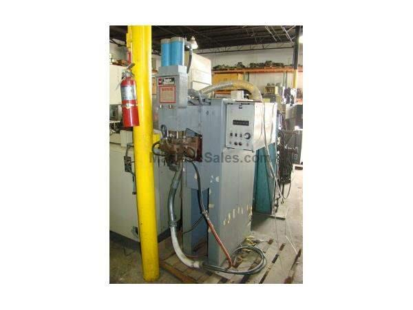 "50 KVA, TAYLOR WINFIELD, EBB3-8-50, 8"" throat, 1 phase, pnuematic press"