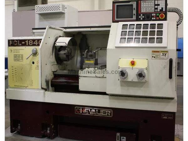 "Chevalier FCL-1840,18"" x 40"",FAGOR CNC,33-3100RPM, 8""Chk,Steady Rest,Coolnt,2004"