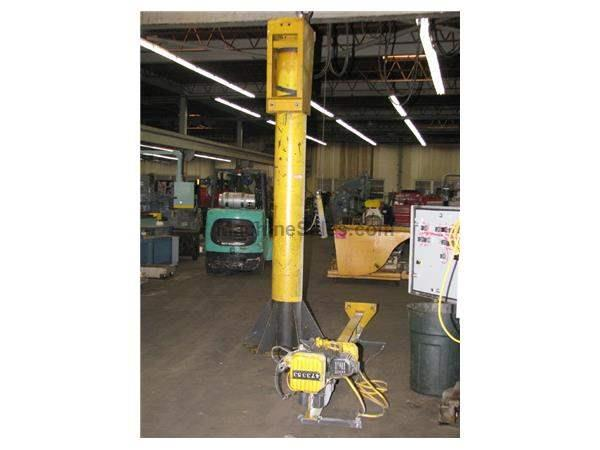 Used Jib Crane Hoist : Jib cranes for sale new used machinesales