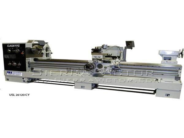 "26"" x 120"" U.S. INDUSTRIAL® Precision Engine Lathe"