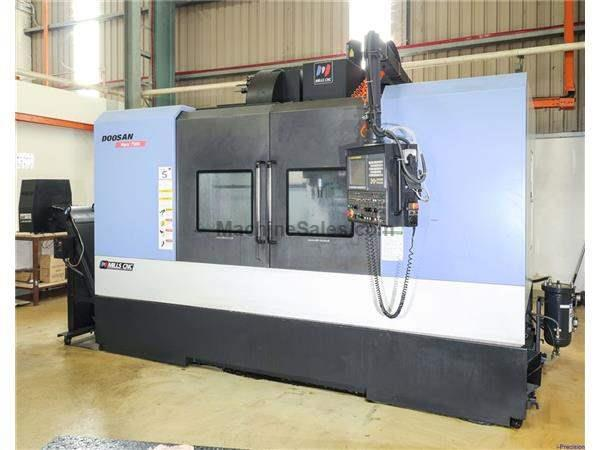 Online Auction - Doosan (June 2010) Mynx 7500 Vertical Machining Center